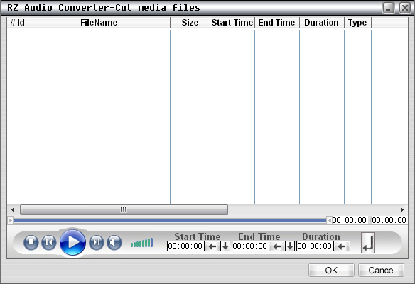 RZ Audio Converter Screenshot